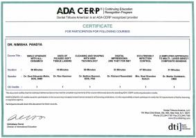 ADA CERP Certificate